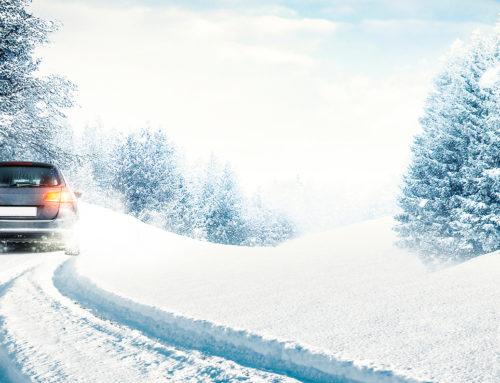 Vask bilen ofte om vinteren!