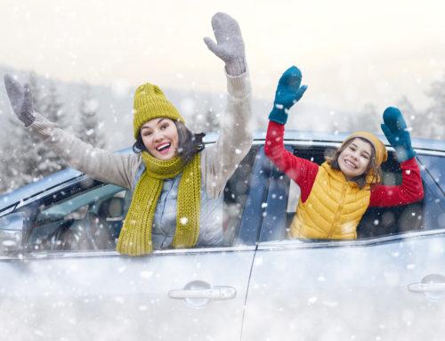 Ren bil til Vinterferien.